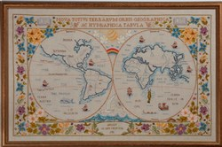 The Antique Twin Globe Sampler