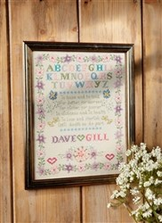 Pastel Beaded Wedding Sampler