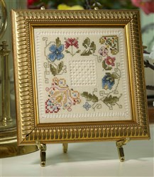 Antique Stitches - Hemstitch Flowers