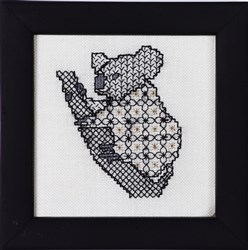 Blackwork Beasts - Koala