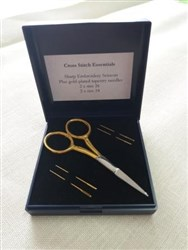 Cross Stitch Essentials Gold-Plated Needle Set
