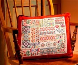 Beautiful Border Cushion