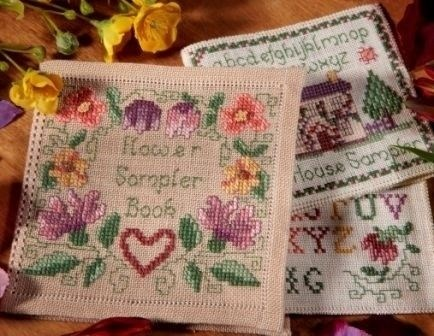 Cross stitch patterns / sampler patterns and needlework kits by.