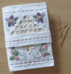 Hardanger and Flower Needlecase
