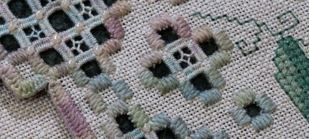 Heavenly Hardanger Embroidery