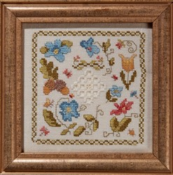 Little Woodland Tile with Hardanger