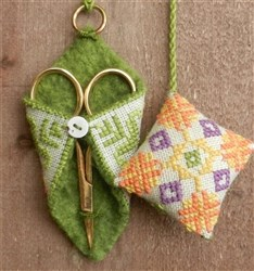 Spring Leaves Scissor Cradle