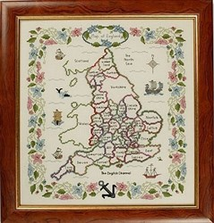 Map of England Sampler