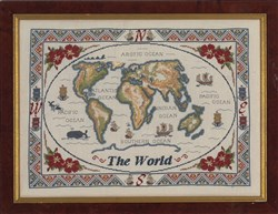The Antique World Map