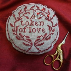 A Love Token Pincushion