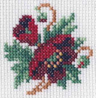 Photo conversion to cross stitch chart