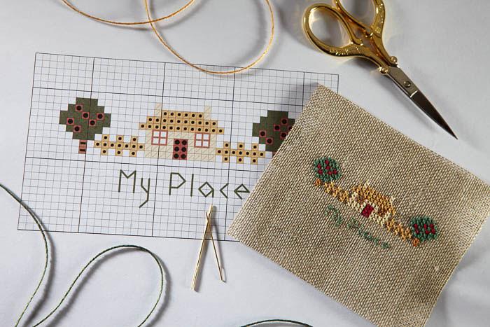 Cross Stitch Chart And Key Basics The Cross Stitch Guild