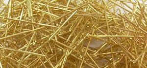 Gold Cross Stitching Needles